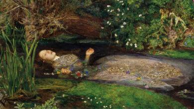 John Everett Millais'ın Ophelia adlı tablosu
